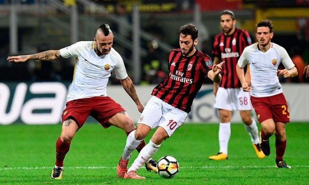 Рома - Мілан: Де дивитися матч Серії А