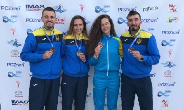 Українці завоювали три медалі на першому в сезоні етапі Кубка світу з веслування