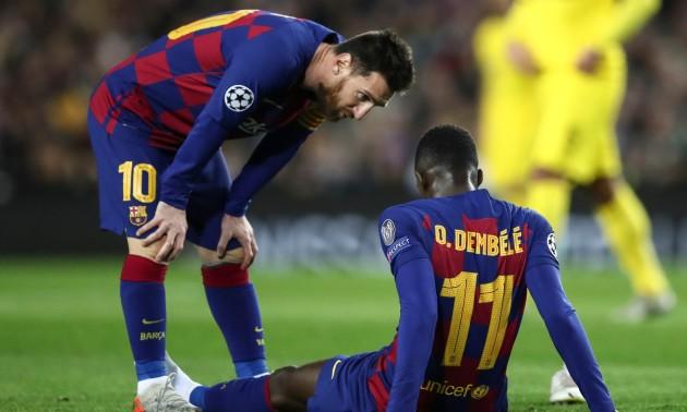 Барселона заплатить 5 млн євро бонусів за Дембеле, якщо він зіграє з Алавесом