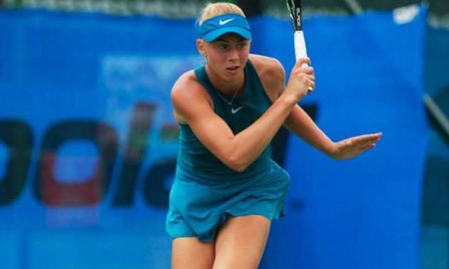 Лопатецька переграла першу сіяну на турнірі в Японії