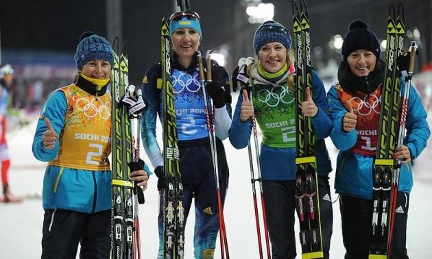 Золота колекція. Збірна України виграла золото Олімпійських ігор в Сочі. Повне відео гонки