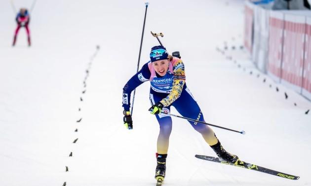 Чотири українки візьмуть участь у гонці переслідування на Кубку світу