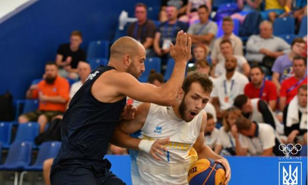 Чоловіча збірна України впевнено перемогла Італію на Європейських іграх