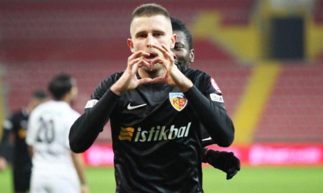 Кравець забив Бешикташу в матчі чемпіонату Туреччини