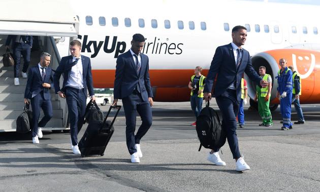 Шахтар прибув до Запоріжжя на фінал Кубка України