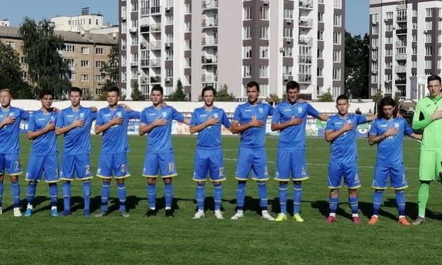 Україна U-19 розписала нічию із Румунією