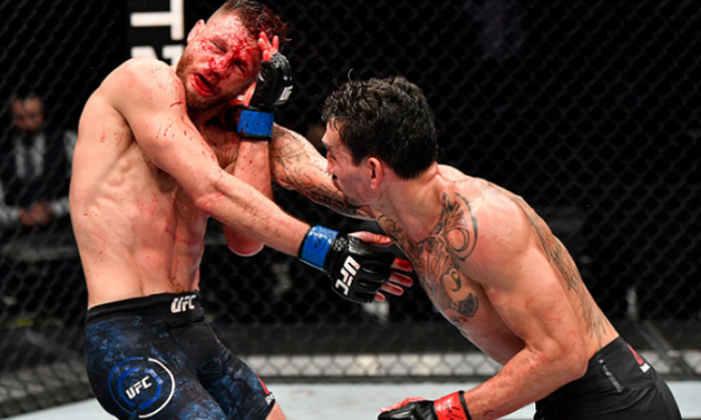 Джінгліанг нокаутував Понзініббіо, Голловей переміг Каттара. Відеоогляд боїв UFC on ABC 1