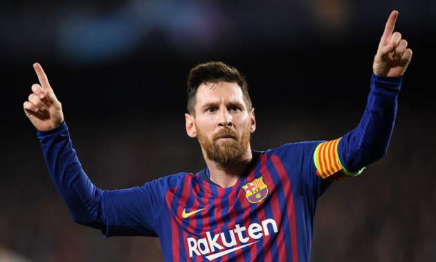 Мессі забив ювілейний гол у футболці Барселони
