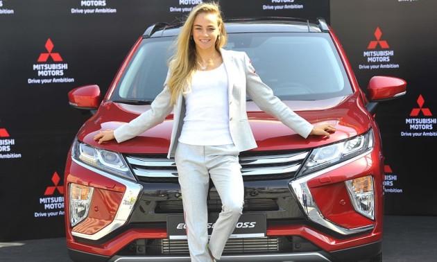 Білодід стала амбасадором компанії Mitsubishi