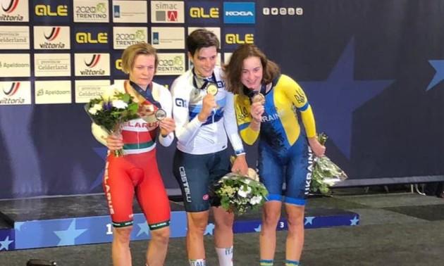 Українка Соловей здобула бронзову нагороду на чемпіонаті Європи
