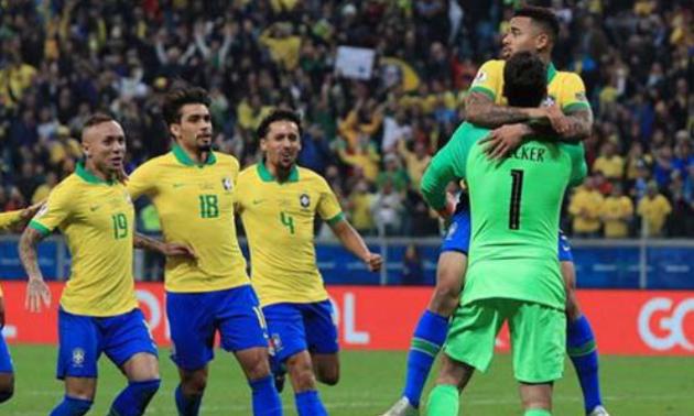 Бразилія по пенальті переграла Парагвай