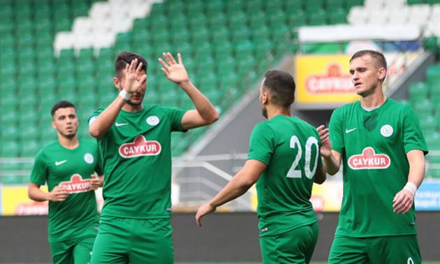 Гладкий забив четвертий гол за турецький клуб