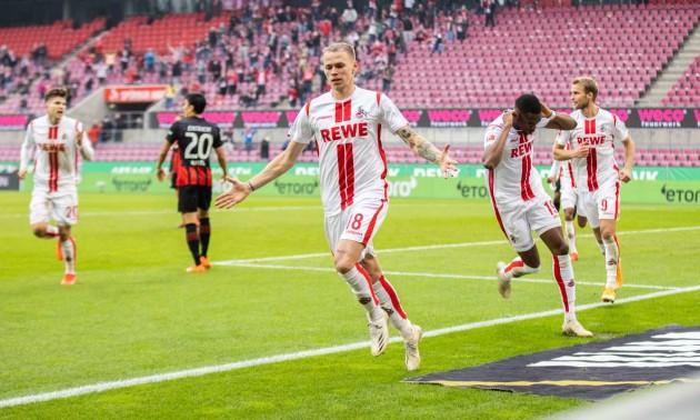 Айнтрахт не зміг перемогти Кельн у 4 турі Бундесліги