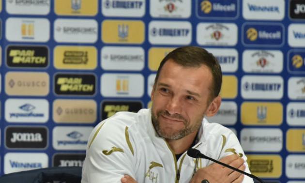 Шевченко вірить у майбутнє збірної України