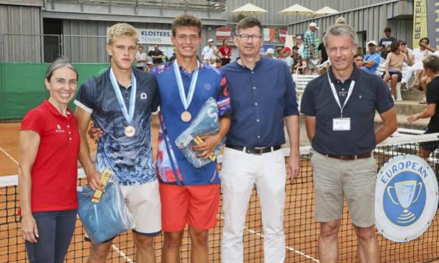 Українські тенісисти стали бронзовими призерами чемпіонату Європи