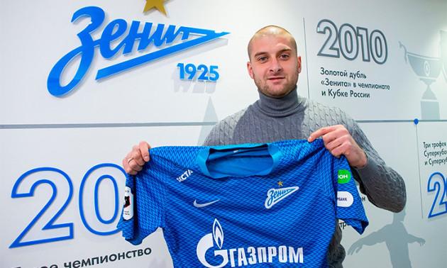 Ракицький дебютує за Зеніт в Лізі Європи. ФОТО
