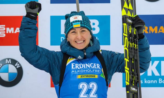 Семеренко потрапила до ТОП-10 у спринті на першому етапі Кубка світу
