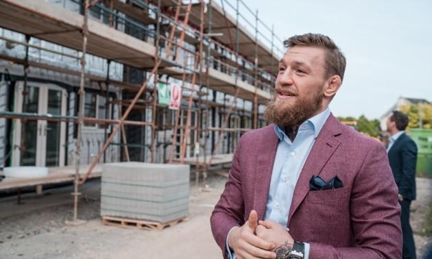 Мак-Грегор побудував будинки для бездомних ірландських сімей