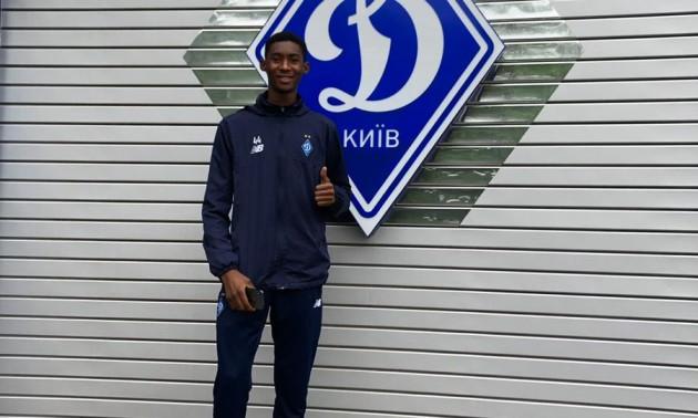 Динамо підписало 18-річного нігерійця