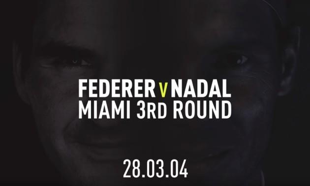 16 років тому Федерер і Надаль зіграли між собою перший матч
