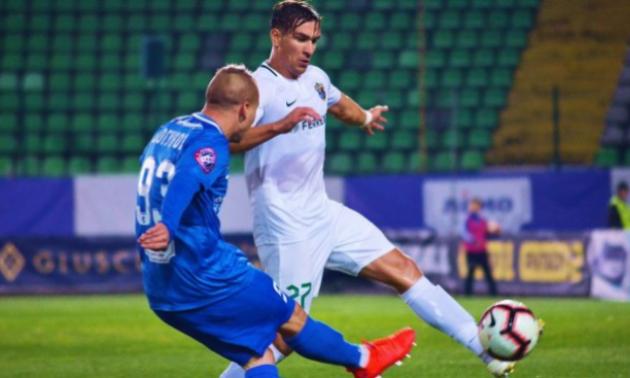 Богунов розкритикував суддівство у грі з Ворсклою