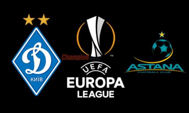 Динамо - Астана: стартові склади команд на матч Ліги Європи