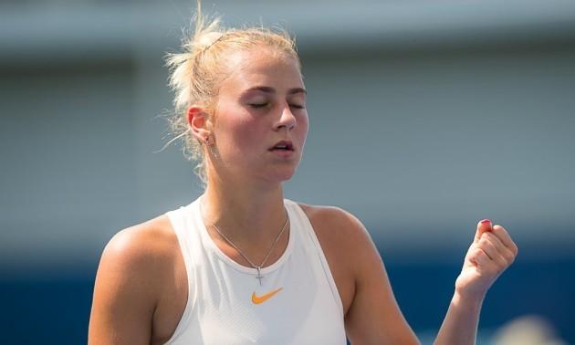 Лопатецька знялася через травму і Костюк вийшла до фіналу турніру в Ірпені