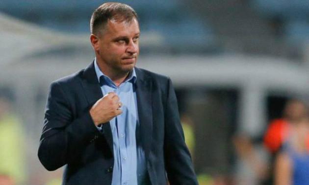 Вернидуб вказав термін відпочинку від тренерської роботи