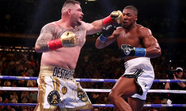 Руїс відмовився боксувати із Джошуа у Саудівській Аравії