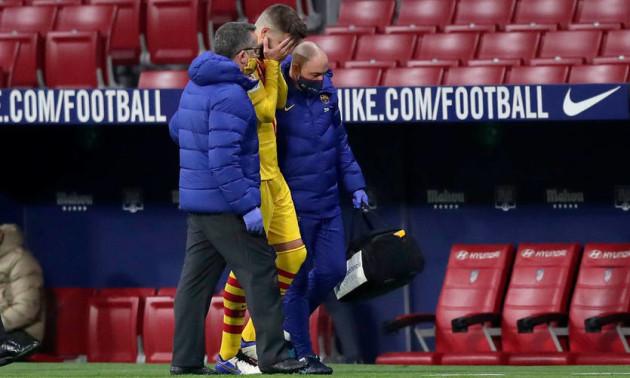 Піке отримав травму перед матчем з Динамо