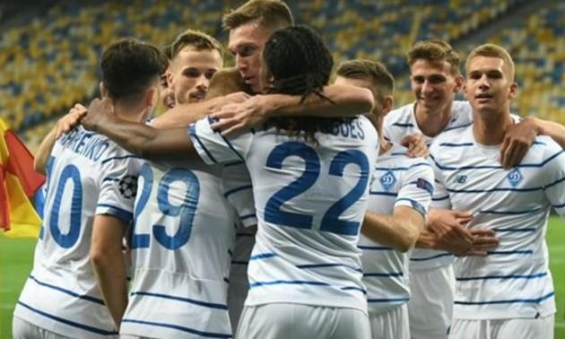 Динамо отримало негативні тести на COVID-19 напередодні матчу з Ювентусом