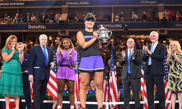 Андреєску сенсаційно перемогла Вільямс та виграла US Open