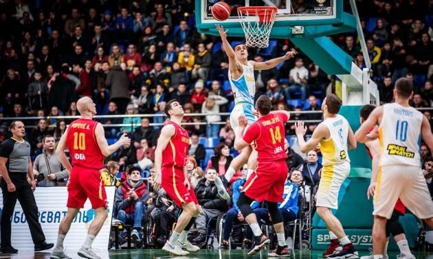 Збірна України програла Чорногорії в матчі кваліфікації на чемпіонат світу