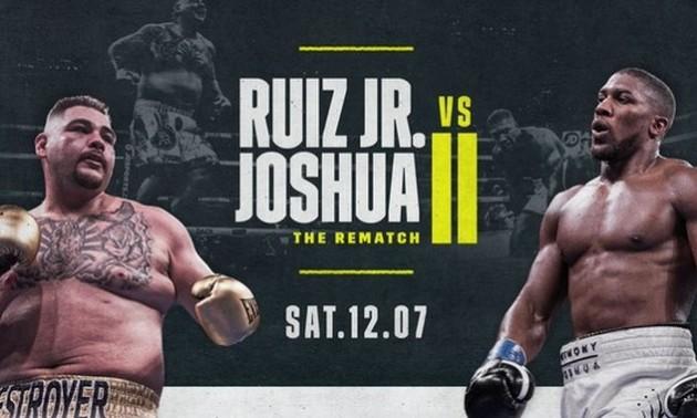 Джошуа - Руїс: боксери затейпували руки