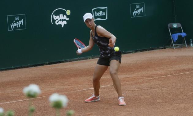 Калініна впевнено переграла росіянку на турнірі в Чехії