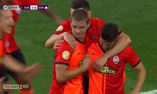 Бондар забив дебютний гол за Шахтар