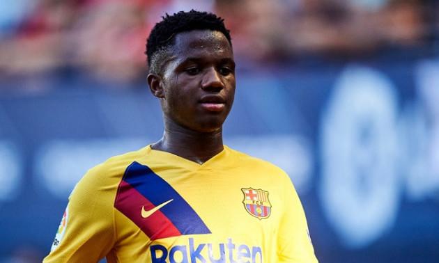 Фаті отримав травму на тренуванні Барселони