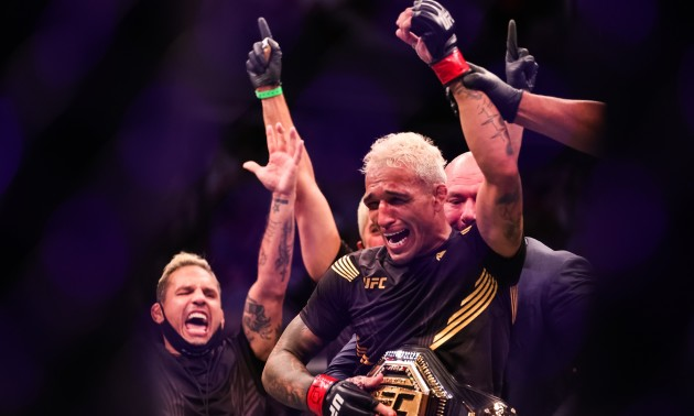 Олівейра – новий чемпіон UFC у легкій вазі
