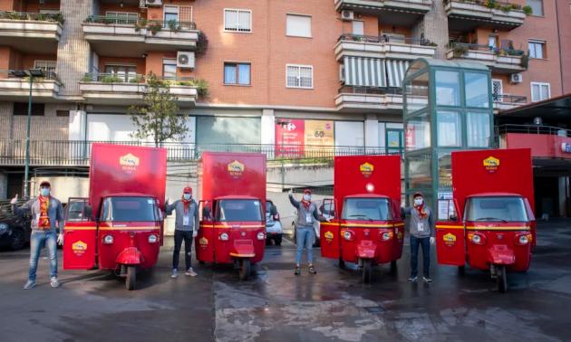Рома організувала доставку пакетів допомоги своїм уболівальникам