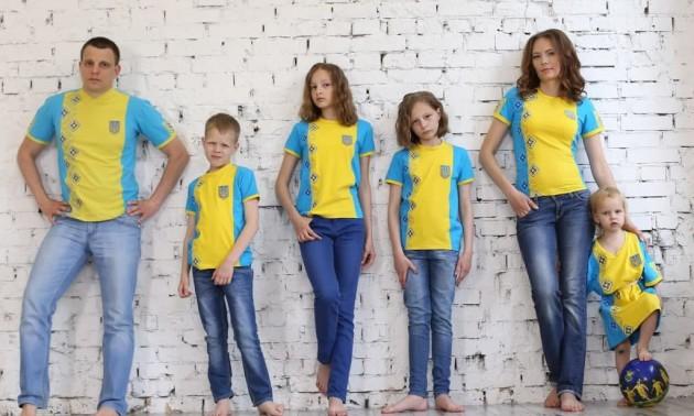 Підтримай збірну України  на Євро у футбольній вишиванці!