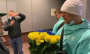 Олександра Усика із синьо-жовтим букетом зустріли в Україні