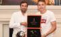 Срна і Палкін нагородили чемпіонів світу з Шахтаря
